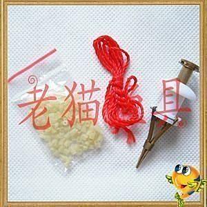 銅制紅蟲夾 裝顆粒 釣魚垂釣用品配件