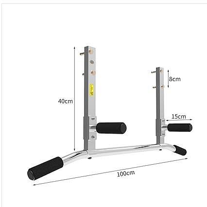 東際 家用牆體單槓 壁掛式引體向上單槓 臂力訓練器健身 出口外貿【E612B2不銹鋼款】