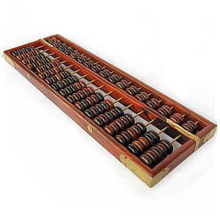 大17檔長56 老紅酸枝木算盤