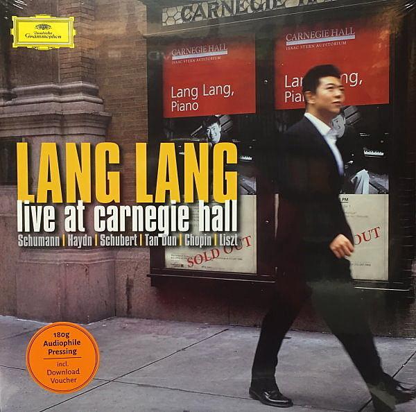 【停看聽音響唱片】【黑膠LP】朗朗 LANG LANG:LIVE AT CARNEGIE HALL