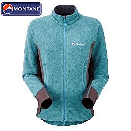 丹大戶外用品【Montane】 女款自由舞動保暖高領保暖外套 高透氣/舒適 #FLIBJMAY 藍