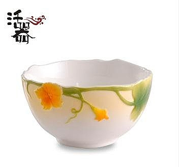 活器 創意陶瓷碗套裝 時尚浮雕瓷器