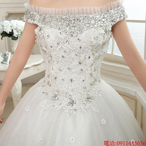 (45 Design)  訂做7天到貨 歐品牌婚紗抹胸收腰顯瘦新娘結婚教堂婚紗廠家批發 自助婚紗