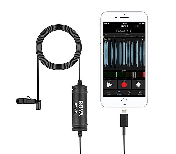 【EC數位】BOYA 博雅 BY-DM1 數位領夾式麥克風 Lightning iOS iPhone 專用 麥克風