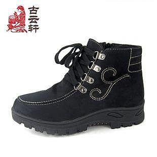 布鞋 女棉鞋 休閑 耐磨 防滑 保暖