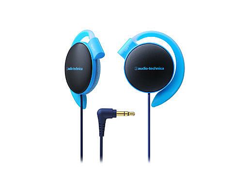 【台中平價鋪】 全新 鐵三角 ATH-EQ500 耳掛式耳機  軟質耳墊 藍色 台灣鐵三角公司貨