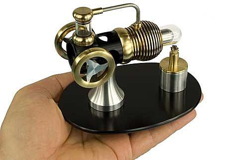 【賽先生科學工廠】最值得珍藏的史特林引擎 (英國手工製造 ) Stirling engine