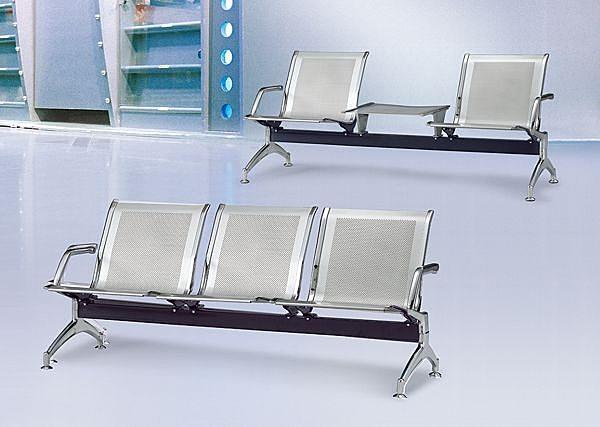 HY-Y194-4  4人座920銀網面排椅