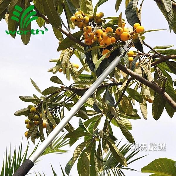 摘果器園藝高空摘果剪修枝剪刀采果器摘葡萄荔枝芒果龍眼工具xw