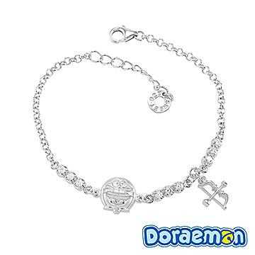 哆啦a夢Doraemon-愛神之箭-銀飾手鍊