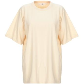 《セール開催中》GOLDEN GOOSE DELUXE BRAND レディース T シャツ ベージュ M コットン 100%