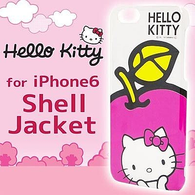 GD iPhone 6 Kitty 外殼 粉紅蘋果 凱蒂貓手機殼 保護殼