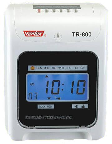 ♥ 世尚Vertex TR-800 六欄位指針式打卡鐘~贈10人卡架100張卡片+免運費