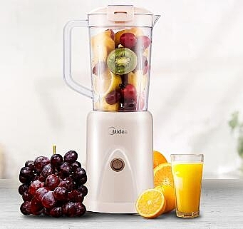 Midea/美的 榨汁機家用全自動多功能迷你料理機榨果汁2501B 青木鋪子