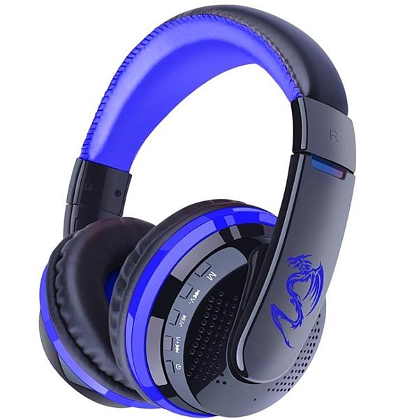 HiFi藍牙耳機頭戴式重低音無線4.1音樂運動蘋果安卓插卡耳麥通用