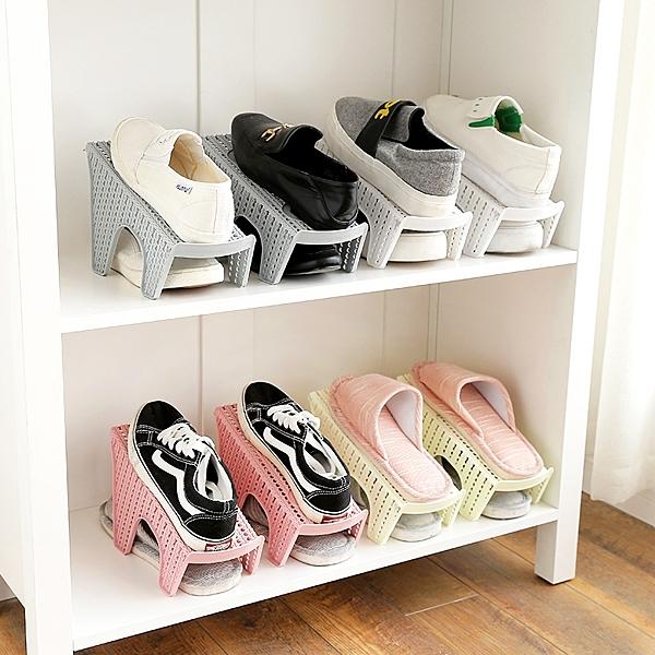 鞋子收納架 單排 雙排 立體防滑鞋架 收納鞋櫃 收納鞋架 置物架 鞋子堆疊架 拖鞋架