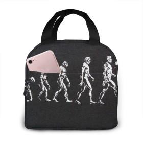 Evolution 進化 ランチバッグ 保温 保冷バッグ 弁当バッグ 手提げ ピクニック食品収納 オックスフォード製 レディース 学生用