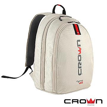 法國設計 Crown (215型) 時尚後背包(象牙白) .