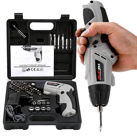 家用電動螺絲刀充電式電起子手電鑚迷你螺絲批螺絲刀工具套裝·享家