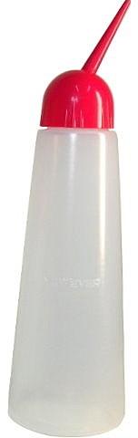 日本 F 型 空瓶 260  粉紅  容量 260 cc    產地  日本    不滴漏