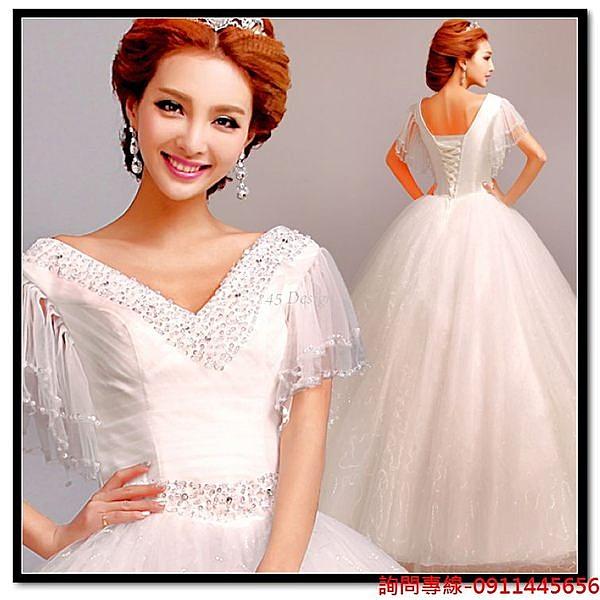 (45 Design) 訂做款式7天到貨韓版公主新娘婚紗禮服結婚敬酒服 外拍 走秀 畢展 攝影