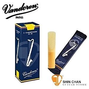 2號半竹片 Vandoren 低音豎笛 竹片 V5藍盒 2.5 (5片/盒) Bass Clarinet 低音單簧管/低音黑管【CR1225】