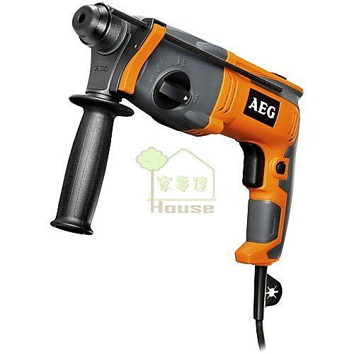 [家事達] 德國大廠 AEG 免出力鎚鑽BH22E   特價  附工具箱