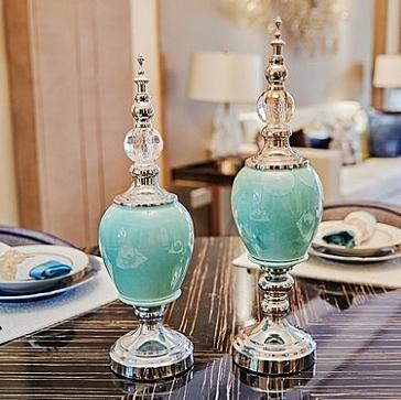 書架裝飾品擺件家居飾品廚房裝飾品小擺設現代擺飾工藝品 -chu