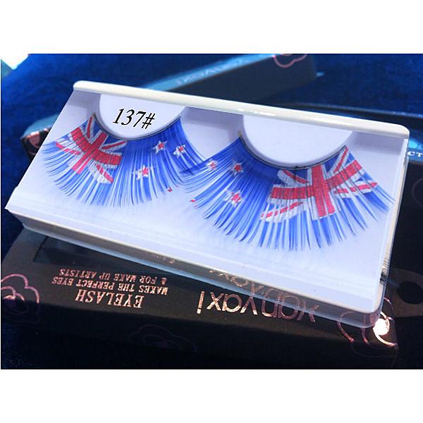 造型假睫毛★137★ 紐西蘭國旗  ❤舞台、表演、尾牙、國標舞❤