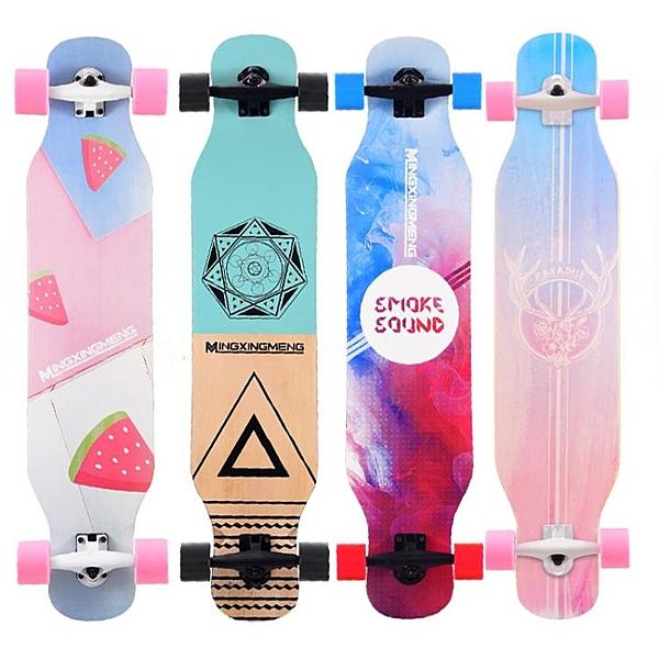 公路四輪滑板車青少年男女生舞板成人