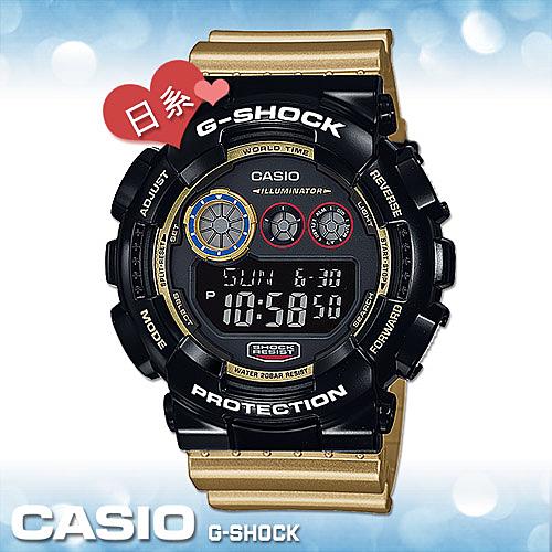 【日系版】CASIO手錶專賣店 卡西歐 G-SHOCK GD-120CS-1JF  撞色 數字男錶 耐衝擊構造 橡膠錶帶