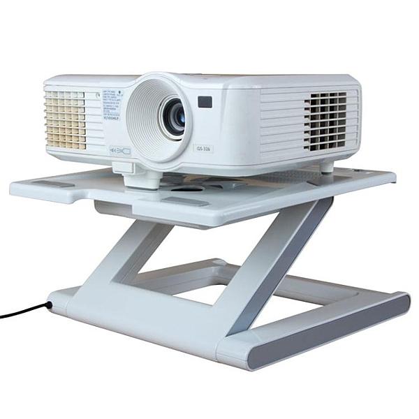 投影機支架 C8投影儀支架桌面通用架子托盤托架微型床頭桌腳架落地底座