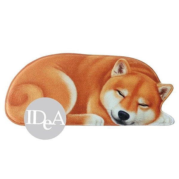 IDEA 3D地墊 柴犬 哈士奇 居家生活 浴室 玄關 房間 仿真 西伯利亞雪橇 日本秋田