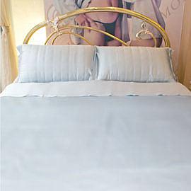 碧多妮寢飾-極簡無印永恆款-純蠶絲床包-加大-[6*6.2尺]