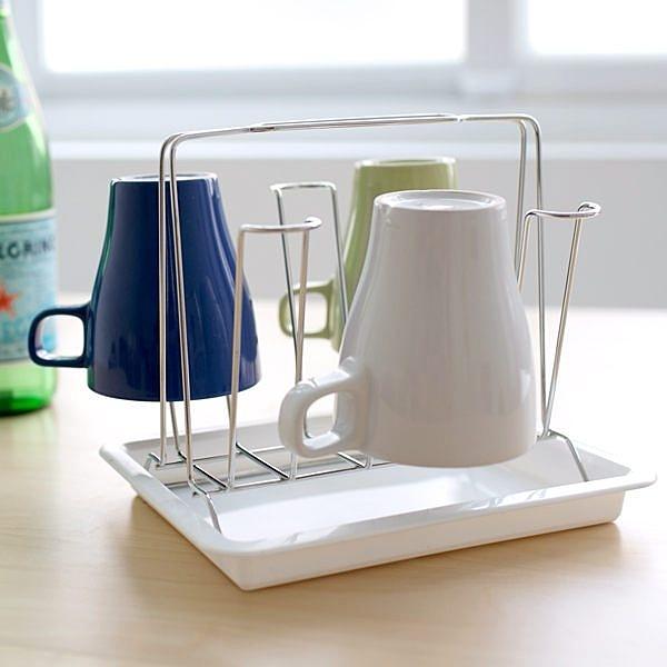 馬克杯 杯架【D0006】日式簡約風不鏽鋼杯架 MIT台灣製 收納專科