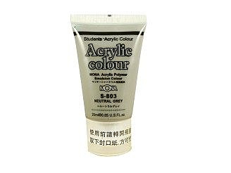 [MONA] S-803壓克力水彩顏料-灰