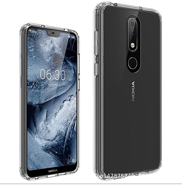 88柑仔店~-諾基亞X6 Nokia6.1Plus晶透亞克力Nokia X7 諾基亞7.1Plus防摔殼Nokia 3.1 Plus