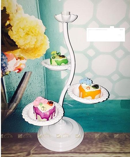 [協貿國際] 婚禮甜品台擺件歐式蛋糕架