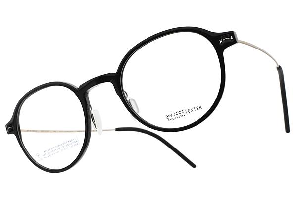 VYCOZ 光學眼鏡 EXTER BLK-GD (黑-金) 植粹環保簡約鏡框 # 金橘眼鏡