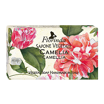Florinda 芙洛琳達 山茶花 義大利天然手工香皂 100g 10點半美妝館