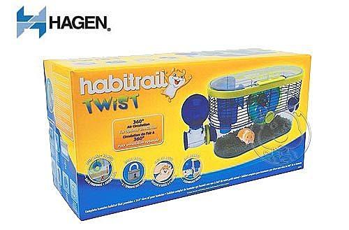 【 培菓平價寵物網】《HAGEN 赫根》寵物鼠誕生系列360度視野環景屋送鼠砂1包