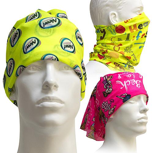 [客製化]  螢光底色魔術頭巾 S1-40002