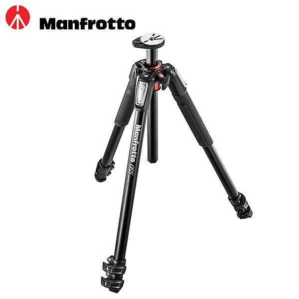 ◎相機專家◎ Manfrotto MT055XPRO3 + MVH502AH 鎂鋁合金腳架雲台套組 送腳架袋 正成公司貨