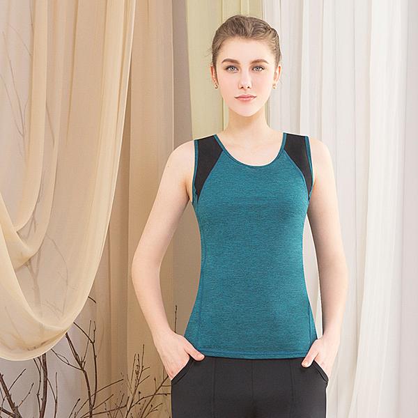 *╮寶琦華Bourdance╭*專業瑜珈韻律芭蕾★背心上衣( 內有裡襯附罩杯)【D19114】義大利布