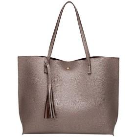 大容量の女性のハンドバッグ、タッセルショルダーバッグレトロな女性のクロスボディバッグカジュアルデザイナーのPUレザーハンドバッグ、仕事/旅行/ショッピング/デート/パーティー/クリスマスに適しています