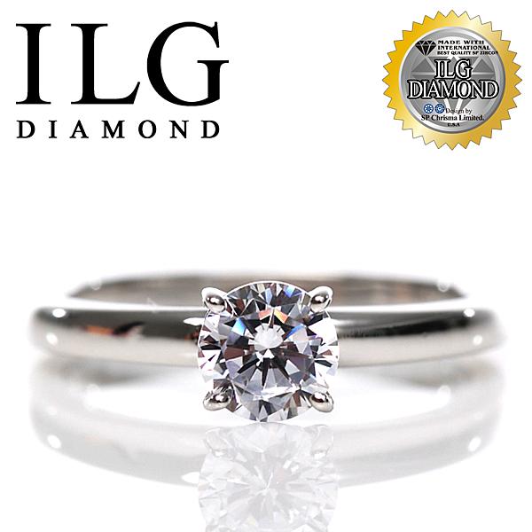 【ILG鑽】頂級八心八箭擬真鑽石戒指-50四爪紐約時尚款 RI100 s925銀 絕美經典閃耀婚戒 平日可戴