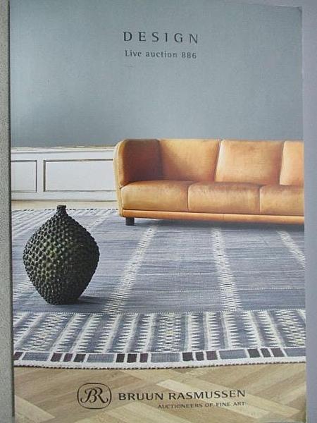 【書寶二手書T8/設計_FNM】Bruun Rasmussen Design_2019/6