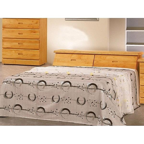床架 AT-512-1A 正赤陽木5尺雙人床 (床頭+床底)(不含床墊) 【大眾家居舘】