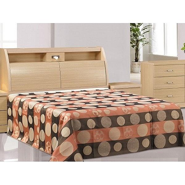 床架 FB-554-1A 白橡金圓滿5尺雙人床 (床頭+床底)(不含床墊) 【大眾家居舘】