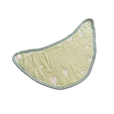 Hibou 六層紗三角口水巾圍兜-木與鳥【佳兒園婦幼館】